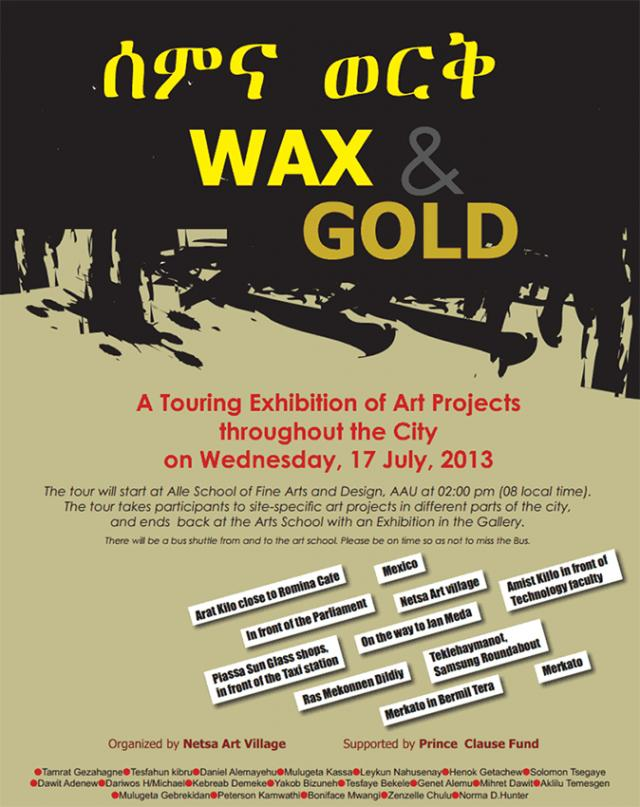 Wax and Gold poster
